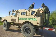 Vintage US Border Patrol Jeep | Vintage Police Vehicles ...