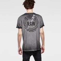 G-Star RAW | Men | 新着アイテム | Thys Long T-shirt , Raven