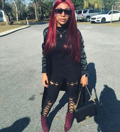 Lil fly lil chick from Savannah  hair : @shopamourjayda #MerryChristmas
