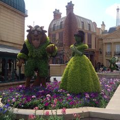 2015 EPCOT Flower & Garden - Beauty and the Beast