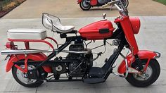 1961 Cushman Eagle 8 HP presented as lot at Dallas, TX 2015 - Vintage Go Karts, First Class Stamp, Motor Scooters, Mini Bike, Golf Carts, Bicycles, Motorbikes, Dallas, Motorcycles