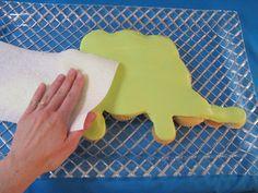 Dino Cupcake Cake (good directions)
