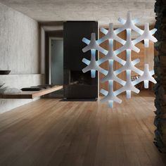Synapse modular lit screen Francisco Gomez Paz for Luceplan. Make it as big as you want.