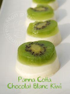 * Un peu de vitamines et beaucoup de gourmandise avec ce dessert, que j'ai découvert il y a déjà quelque temps chez ma collègue Stéphanie. La recette est facile et rapide, comme j'aime. * * * Panna...
