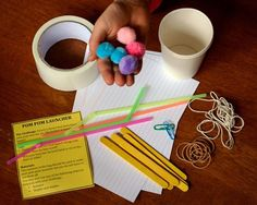Create an Engineering Mystery Bag Challenge for Kids