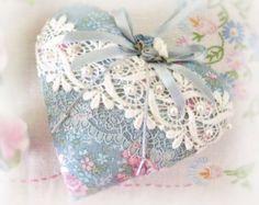 Victorian Lavender Sachet Heart.