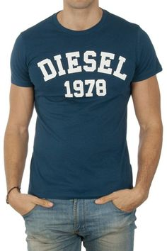 Diesel Short Sleeve Shirt - Dark Blue   Brandsfever