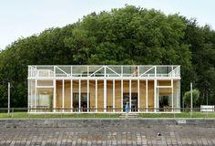 Wim Goes Architectuur, Filip Dujardin · Royal Belgian Sailing Club Alberta, 2012 · Divisare