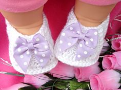 Baby Shoes Girl Baby Booties Crochet  Newborn Baby Girl Shoes Knitted Infant Booty Toddler Shoes Crochet Baby Shoes Handmade Baby Gift
