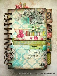 I love Andrea's works!!!!!! Check out her blog: http://snappingmonsters.blogspot.it/! Fabric Scrap Recipe Book by Andrea Ockey Parr