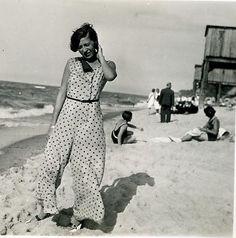 Giant Pants of the '30s: beach pajamas