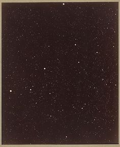 A Section of the Constellation Cygnus, August 13, 1885