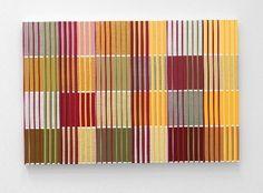 Ditty Ketting - Doek no. 349 Acryl op linnen, geen titel, 70 x 105 cm, 2010