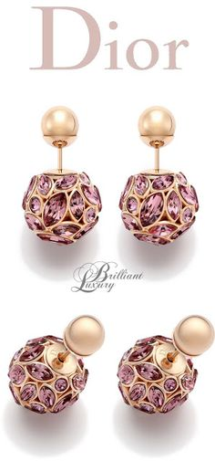 Brilliant Luxury * Dior Earrings 2015