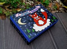 #etsy #art #home #deco #fox #moon #foxy #animal #wild #night #stars #cloud #cute #girly #pretty #box #tree #banner #vintage #oldschool #nature #mosaic #graphic #design #craft #handcraft #handmade #diy #paint #painting #draw #drawing #illustration #handpainted