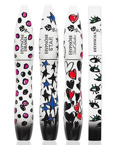 """All your fave mascaras in pretty new packaging! Lancome x Alber Elbaz """"Lancome Show"""" Mascara BUY NOW!"""