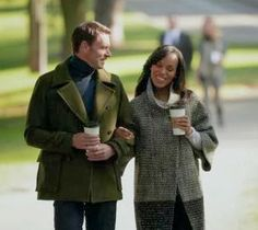 """Olivia's PIAZZA SEMPIONE Black/Clay Wool Coat on Scandal Season 3, Episode 11: """"Ride, Sally, Ride"""" - Spotted on TV"""