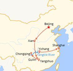 Beijing Xian Guilin Shanghai & Yangtze - 14 Days Group Tour
