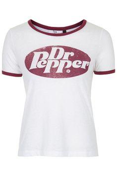 Dr. Pepper Ringer Tee by Tee & Cake
