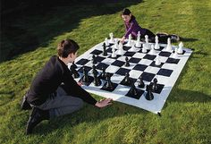To improve confidence & concentration order this giant chess set for your kids at just £39.99 from The Happy Puzzle Company.