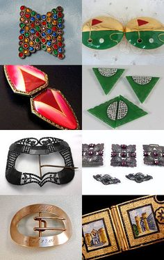 """""""Buckle Up""""...great vintage buckles from Victorian to Deco all on Etsy --Pinned…"""