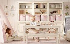 Restoration Hardware playroom
