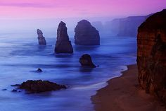 The Twelve Apostles at Port Campbell National Park (Australia)