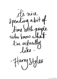 Harry Styles, one direction, and quote image Harry Styles, one . Harry Styles, on Frases Harry Styles, Harry Styles Mode, 1d Quotes, Lyric Quotes, Best Quotes, People Quotes, One Direction Lyrics, One Direction Harry Styles, Image Citation