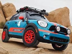 MINI Mauler Revealed Mini Cooper Country, Mini Cooper Custom, Minis, Cooper Countryman, Mini Copper, John Cooper Works, Mini Clubman, Car Mods, Rally Car