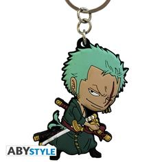 ONE PIECE Porte-clés PVC One Piece Zoro SD