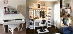 10 Cool DIY Makeup Vanity Table Ideas a