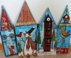 My Art Journal: My Whimsy Houses II by Diane Salter
