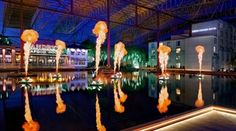 St. Louis Union Station Hotel, Curio Collection by Hilton, MO - Fire & Light Show
