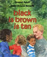 First interracial family in children's book (1973). Love it!