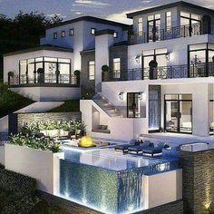 Pool, house