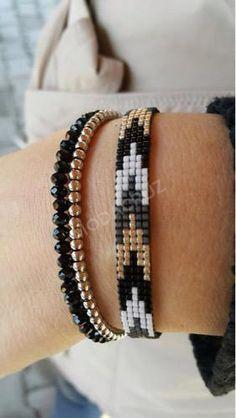 off loom beading techniques Loom Bracelet Patterns, Bead Loom Bracelets, Beaded Wrap Bracelets, Bead Loom Patterns, Beading Patterns, Beading Ideas, Beading Supplies, Beaded Jewelry Designs, Bead Jewellery