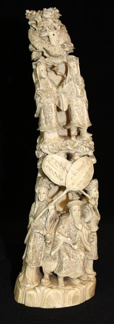 1358 Best Chinese Carved Ivory Images In 2017 Chinese Art Antlers