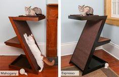 Cat Furniture- Modern Luxury Cat Trees, Litter Box Furniture, Towers