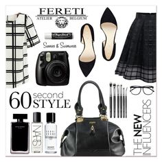 """""""# I/9 Fereti"""" by lucky-1990 ❤ liked on Polyvore featuring Nine West, Narciso Rodriguez, NARS Cosmetics, Chapstick, Bobbi Brown Cosmetics, H&M and Fereti"""