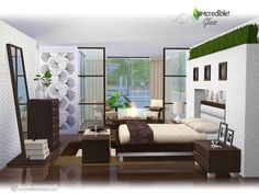 Sims 4 CC's - The Best: Bedroom by SIMcredible