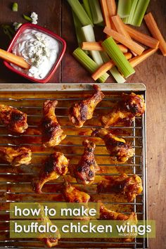 Planning a Super Bowl party? Here's the recipe you need to make the best buffalo chicken wings ever.