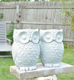 DIY owl planter update - Jennifer Rizzo
