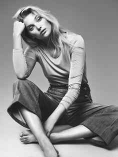 Elsa Hosk for Costume Magazine June 2015 - GUCCI Spring 2015 jeans