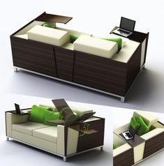 Multifunctional Design: Excellent Concept Trio Sofa by Julia Hamid