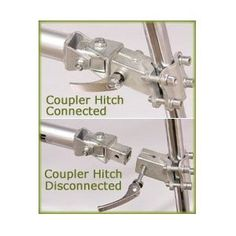 HITCH Morgan Cycle Coupler Hitch for Shadow Trailer Bike on eBay!