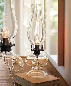 Kerosene Lamps as part of centerpieces? :)