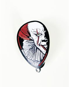 Pennywise The Clown Floating Evil pin from @staycoldkraftworks  They ALL float!  Buy it through their link in bio!
