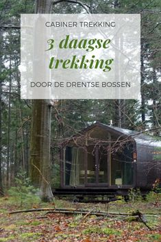 Cabiner trek: Three days immersed in the nature of Drenthe - Places To Travel, Travel Destinations, Places To Visit, Weekender, Holiday Places, Staycation, Hiking Trails, Where To Go, Travel Usa