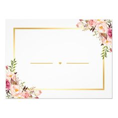 Chic Gold Pink Floral Will You Be My Bridesmaid Invitation Wedding Invitation Background, Flower Invitation, Invitation Cards, Be My Bridesmaid Cards, Will You Be My Bridesmaid, Diy Birthday Invitations, Birthday Cards, Wedding Frames, Wedding Cards