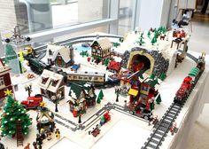 lego winter village | LEGO winter village | Flickr - Photo Sharing!